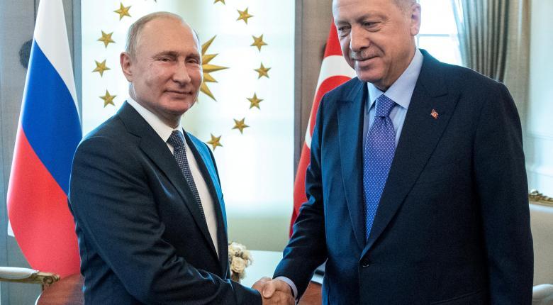 Πούτιν και Ερντογάν εγκαινιάζουν τον Turkish Stream - Κεντρική Εικόνα