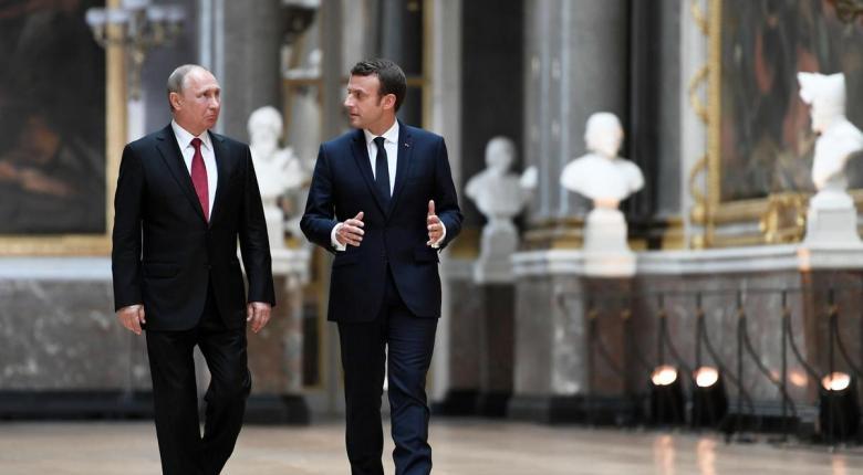 O Μακρόν επιθυμεί μια επανεξέταση της σχέσης με τη Ρωσία - Κεντρική Εικόνα