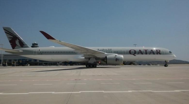 H Qatar Airways έφερε το εκπληκτικό Airbus A350-1000 στην Αθήνα (videos) - Κεντρική Εικόνα