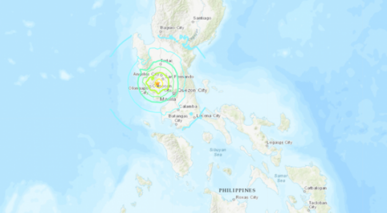 Σεισμός 6,3 Ρίχτερ στις Φιλιππίνες - Κεντρική Εικόνα