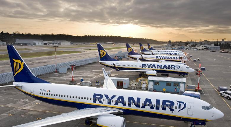 Ενισχύει τα χειμερινά δρομολόγια η Ryanair - Κεντρική Εικόνα