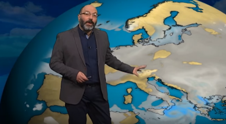 Σ.Αρναούτογλου: «Έρχεται πολύ νερό» - Τι καιρό θα κάνει το Σαββατοκύριακο - Κεντρική Εικόνα
