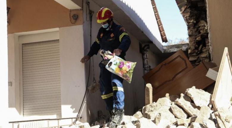 Σεισμός Ελασσόνας: Το έδαφος καταβυθίστηκε κατά 39 εκατοστά - Δορυφορικές εικόνες - Κεντρική Εικόνα