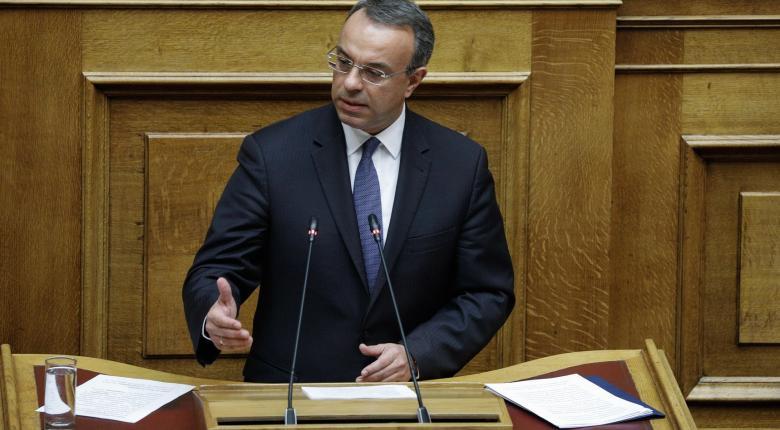 Σταϊκούρας: Δεν είμαστε διατεθειμένοι να διανείμουμε πλούτο που δεν υπάρχει - Κεντρική Εικόνα