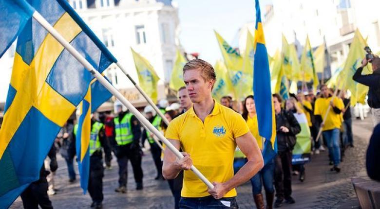 Ποσοστό ρεκόρ δίνουν δημοσκοπήσεις σε ξενοφοβικό κόμμα της Σουηδίας  - Κεντρική Εικόνα