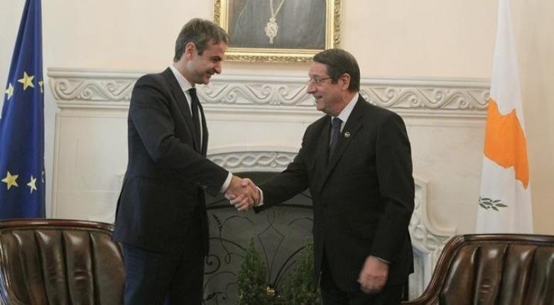 Συνάντηση Μητσοτάκη-Αναστασιάδη: Πλήρης ταύτιση Αθήνας-Λευκωσίας για το Κυπριακό - Κεντρική Εικόνα