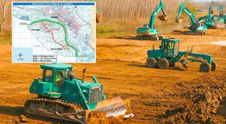 Αποτέλεσμα εικόνας για Η Τουρκία σκάβει τάφρο 4,5 χλμ για πόλεμο αρμάτων στον Έβρο