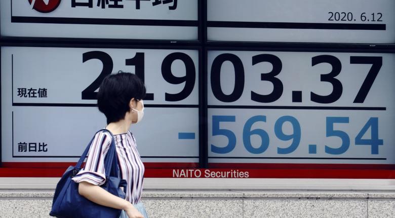 Τόκιο: Μεγάλη πτώση στο χρηματιστήριο μέσω... Γουόλ Στριτ - Κεντρική Εικόνα