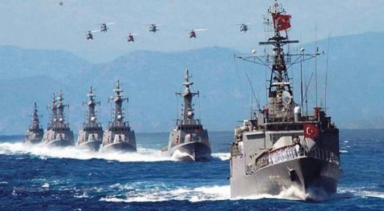 Άσκηση «Γαλάζια Πατρίδα» - Όλος ο τουρκικός στόλος στο Αιγαίο - Κεντρική Εικόνα