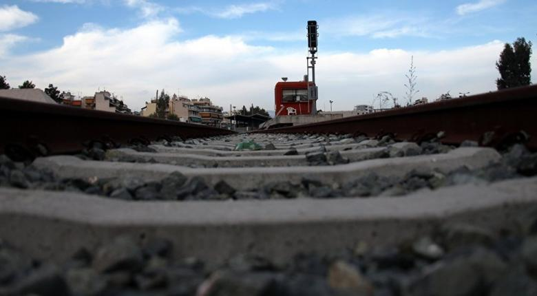 Εκτροχιάστηκε τρένο στο Πλατύ Ημαθίας - Κεντρική Εικόνα