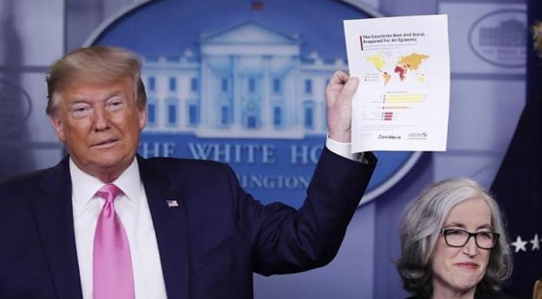 ΗΠΑ: Ανησυχία Τραμπ για την αμερικανική οικονομία - «Μπορεί να δεχτούμε πλήγμα από τον κορωνοϊό» - Κεντρική Εικόνα