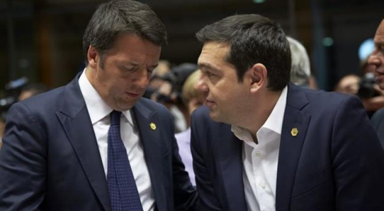 Συνάντηση Renzi –Τσίπρα στην Αθήνα προαναγγέλλει η La Repubblica - Κεντρική Εικόνα