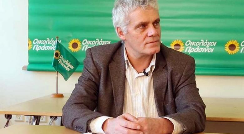 Υποψήφιος των Οικολόγων Πρασίνων για τον Δήμο της Αθήνας ο Γιάννης Τσιρώνης - Κεντρική Εικόνα