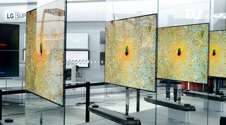 Ήρθε η λεπτότερη TV του κόσμου με πάχος 2,5 χιλιοστά! - Κεντρική Εικόνα