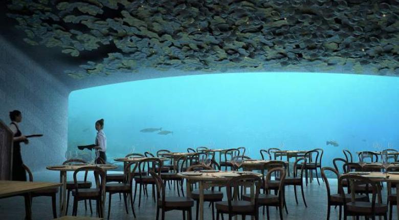 Το πρώτο υποθαλάσσιο εστιατόριο της Ευρώπης (Photos) - Κεντρική Εικόνα