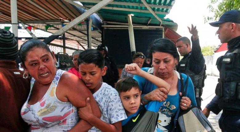 Θρήνος για τους 68 νεκρούς μετά την εξέγερση κρατούμενων σε αστυνομικό τμήμα στη Βενεζουέλα - Κεντρική Εικόνα