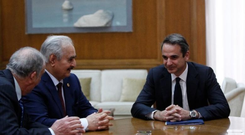 Ο Χαφτάρ κατήγγειλε τον παρεμβατικό ρόλο της Τουρκίας  - «Άκυρα» τα μνημόνια - Κεντρική Εικόνα