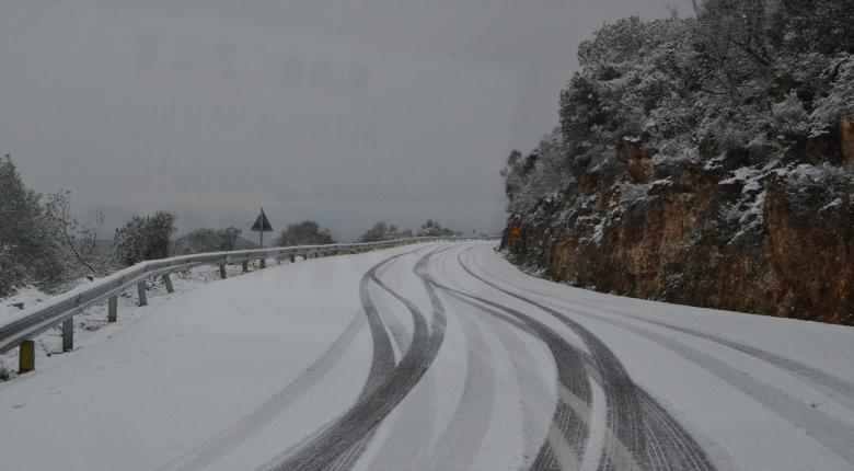 Πού χρειάζονται αλυσίδες λόγω χιονόπτωσης - Κεντρική Εικόνα