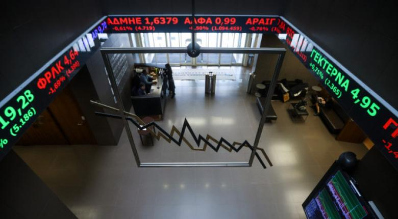 Σε ελεύθερη πτώση το Χρηματιστήριο - Κεντρική Εικόνα